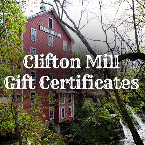 Clifton Mill Gift Certificates