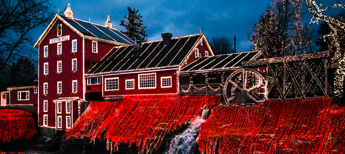 Legendary Christmas Lights | The Historic Clifton Mill